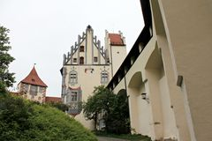 Hohes Schloss Fussen. In Bavaria, Germany Stock Images