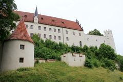 Hohes Schloss Fussen Royalty Free Stock Photography