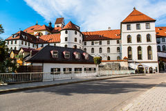 Hohes Schloss Fussen, Bavaria  Germany Royalty Free Stock Photos