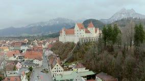 Hohes Schloss Fussen stock footage