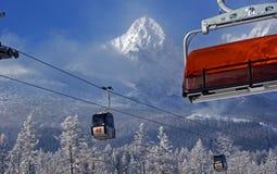Hohes Tatras von Slowakei Stockfotos