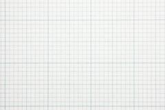 Hohes Vergrößerungsdiagrammrasterfeld-Skalapapier. Stockfotografie