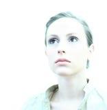 Hohes weibliches Schlüsselportrait Lizenzfreies Stockfoto
