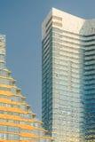 Hohes Wohngebäude Stockfoto