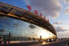 Hohhot Baita International Airport Royalty Free Stock Images