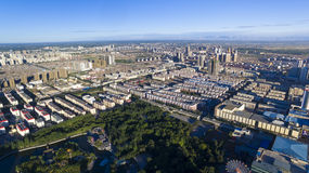 Hohhot morning building china Stock Images