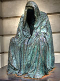 Hohle Statue Stockbild
