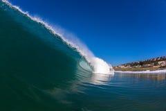 Hohles Wellen-Wasser-Foto Lizenzfreies Stockbild