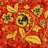 Hohloma花卉样式 库存图片