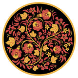 Hohloma bloemen royalty-vrije illustratie