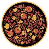 Hohloma floral Fotografia de Stock Royalty Free