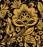 Hohloma floral pattern Royalty Free Stock Photo