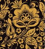 Hohloma floral pattern Royalty Free Stock Photo