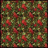 Hohloma pattern Stock Image