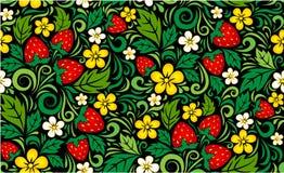 Hohloma pattern background Royalty Free Stock Photo
