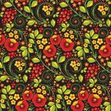 Hohloma seamless pattern Royalty Free Stock Photo