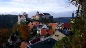 Hohnstein castle stock video