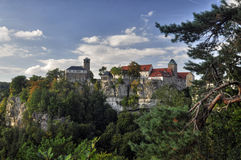 Hohnstein castle Royalty Free Stock Photos