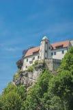 Hohnstein-Schloss, Sachsen Lizenzfreie Stockbilder