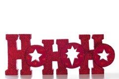 HoHoHo Stock Image