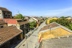 Hoi一个古镇,越南 免版税库存照片