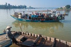 Hoi的港口,越南 免版税图库摄影
