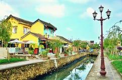 Hoi An är en populär turist- destination av Asien Royaltyfri Foto