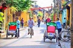 Hoi An är en populär turist- destination av Asien Arkivbilder