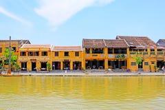 Hoi μια όχθη ποταμού, παγκόσμια κληρονομιά της ΟΥΝΕΣΚΟ του Βιετνάμ Στοκ Εικόνες
