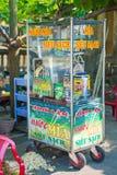 Hoi - στις 16 Μαρτίου του Βιετνάμ:: Μελάσες από το φρέσκο ζαχαροκάλαμο κινητό Στοκ Φωτογραφία