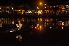 Hoi - город китайских фонариков Стоковое Изображение