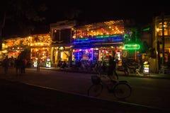 Hoi - город китайских фонариков Стоковое Фото