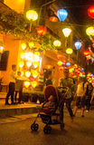 Hoi - город китайских фонариков Стоковые Изображения