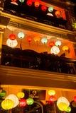 Hoi - город китайских фонариков Стоковая Фотография RF