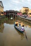 Hoi - город китайских фонариков Стоковые Фотографии RF