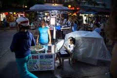 Hoi - город китайских фонариков Стоковое фото RF