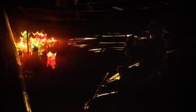 Hoi - город китайских фонариков Стоковые Изображения RF