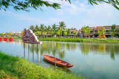 Hoi древний город, Вьетнам Стоковые Фотографии RF