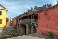 Hoi An Ancient stad under morgon Royaltyfria Bilder