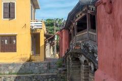 Hoi An Ancient stad under morgon Arkivbilder