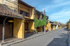 Hoi An Ancient stad under morgon Royaltyfri Foto