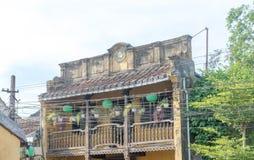 Hoi An Ancient stad under morgon Arkivfoto