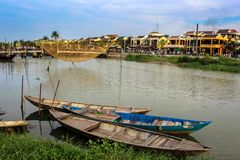 Hoi An Ancient Town au Vietnam central photos libres de droits
