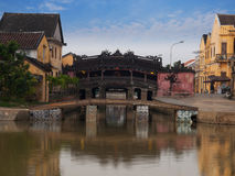 Hoi An Ancient Town(Japanese Covered Bridge), Vietnam. UNESCO World Heritage Site. Royalty Free Stock Photo