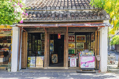 Hoi An Ancient town, Quang Nam province, Vietnam. Art Gallery in Hoi An Ancient town, Hoi An old town, Quang Nam province, Vietnam. Hoi An riverside is the best royalty free stock images