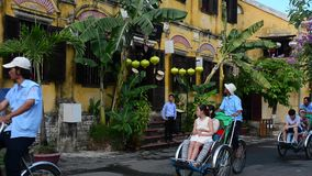 Hoi An ancient town stock video