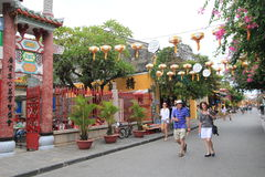 Hoi An Ancient Town in Vietnam Stock Photography