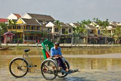 Hoi An Ancient Town in Vietnam on November 2013 Royalty Free Stock Photo