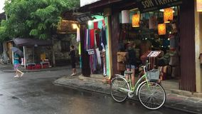 Hoi an ancient town, Vietnam stock video