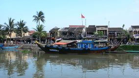 Hoi An ancient town stock video footage